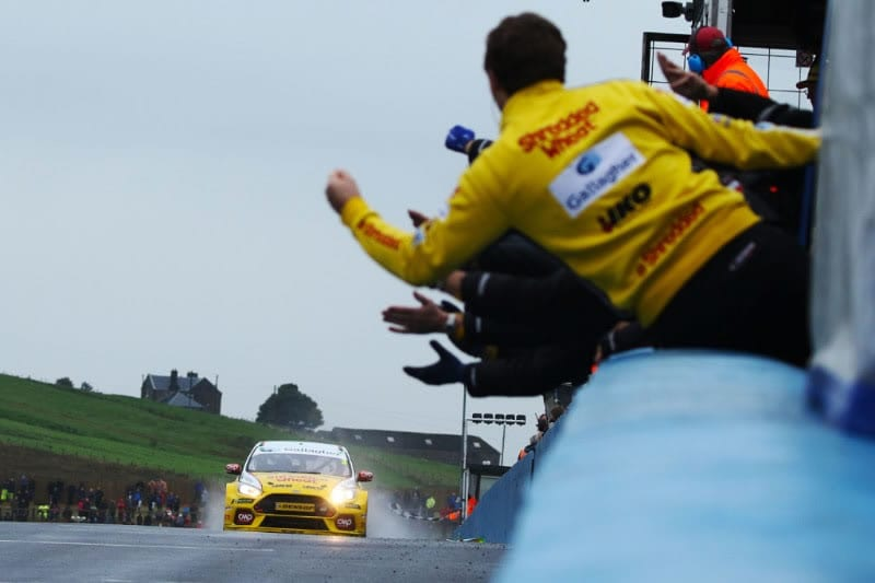 Team Shredded Wheat Racing with Gallagher eyes the prize as BTCC prepares for Silverstone showdown