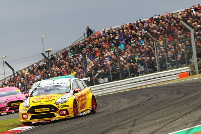 Team Shredded Wheat with Gallagher Ford Focus RS