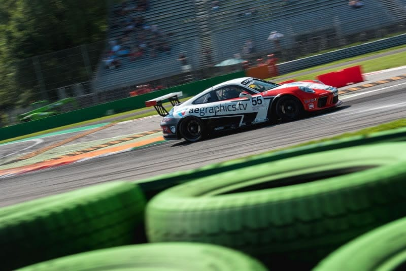 Vaughan secures double podium for Motorbase Performance in Monza