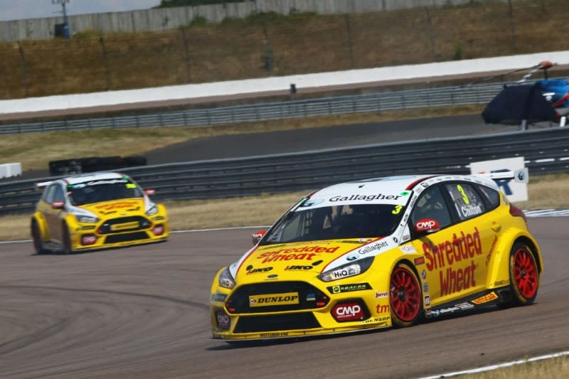 Team Shredded Wheat Racing with Gallagher powers through to take 4th podium at Rockingham