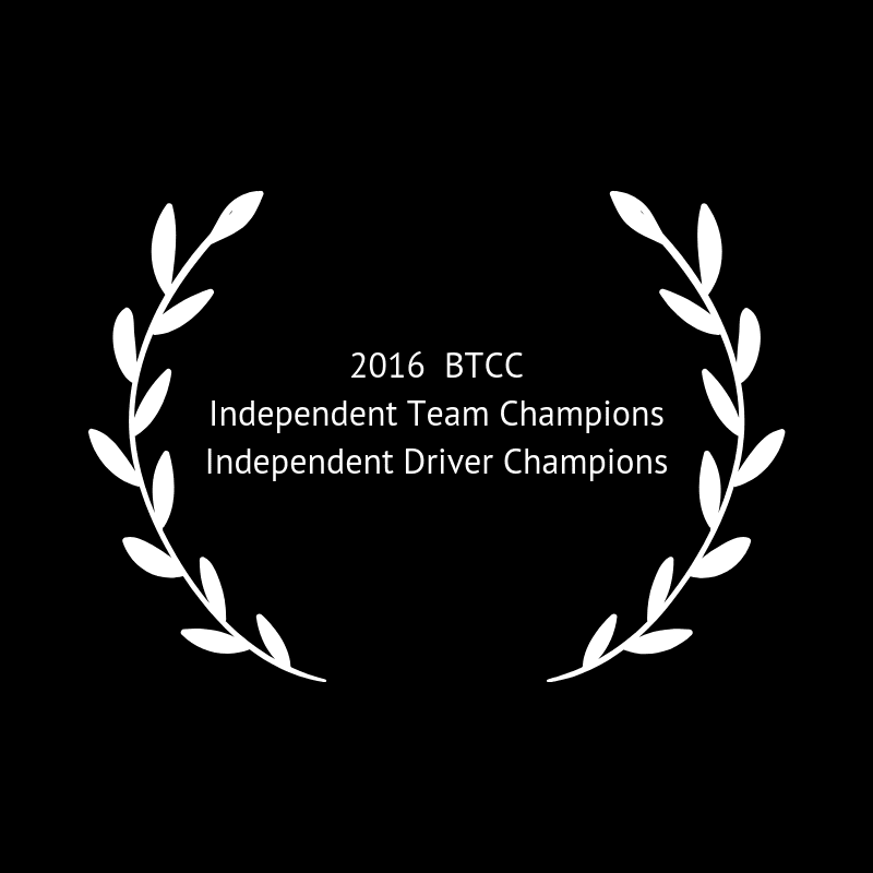 2016 BTCC Independent Team and Drivers Champions