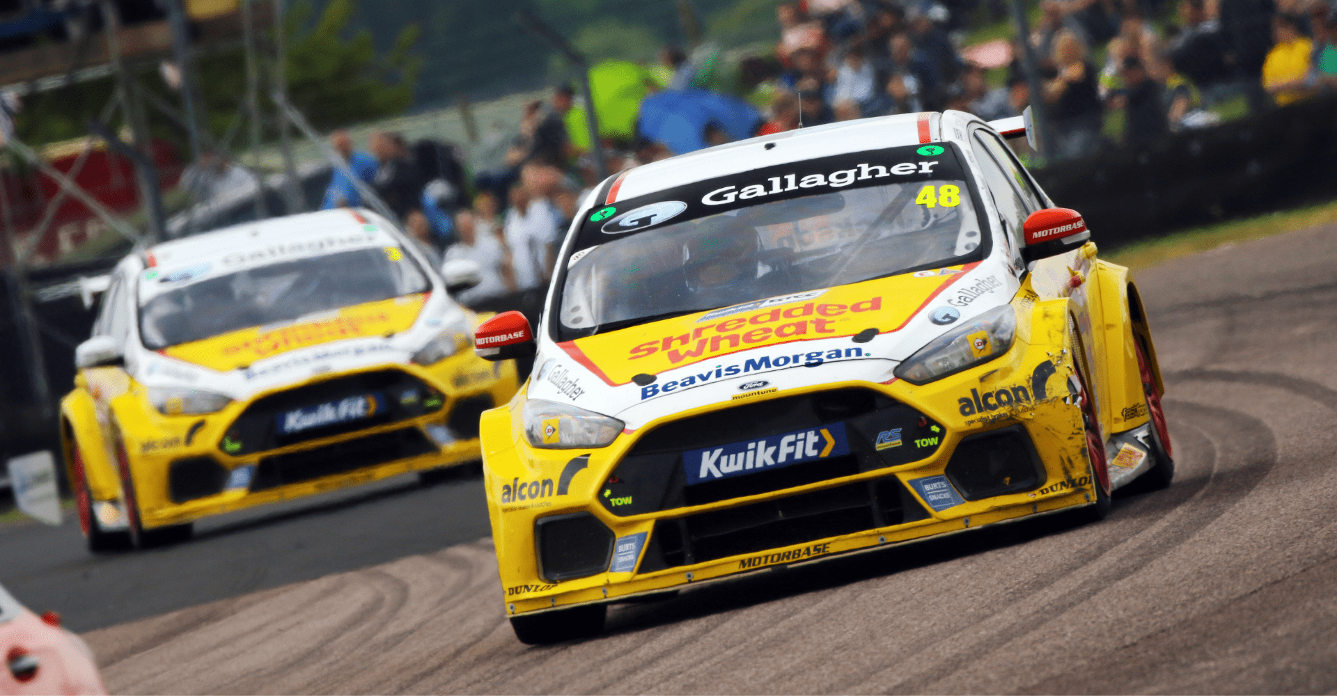 Team Shredded Wheat Racing with Gallagher battles back into the points at Thruxton