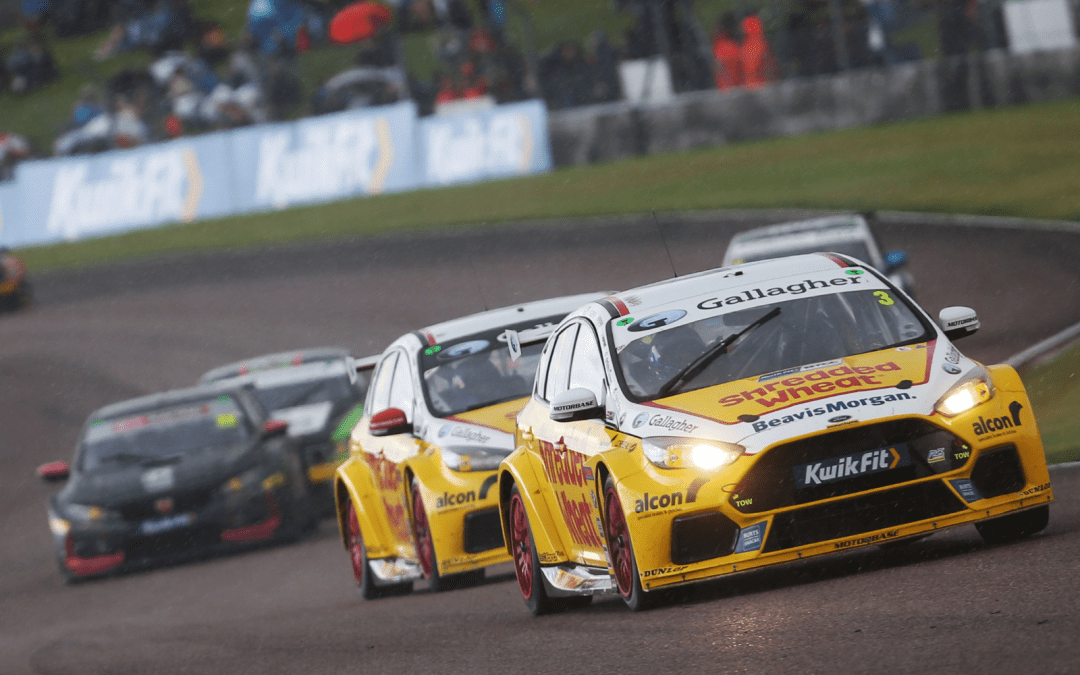 Team Shredded Wheat Racing with Gallagher vows to fight back after rough ride at Thruxton