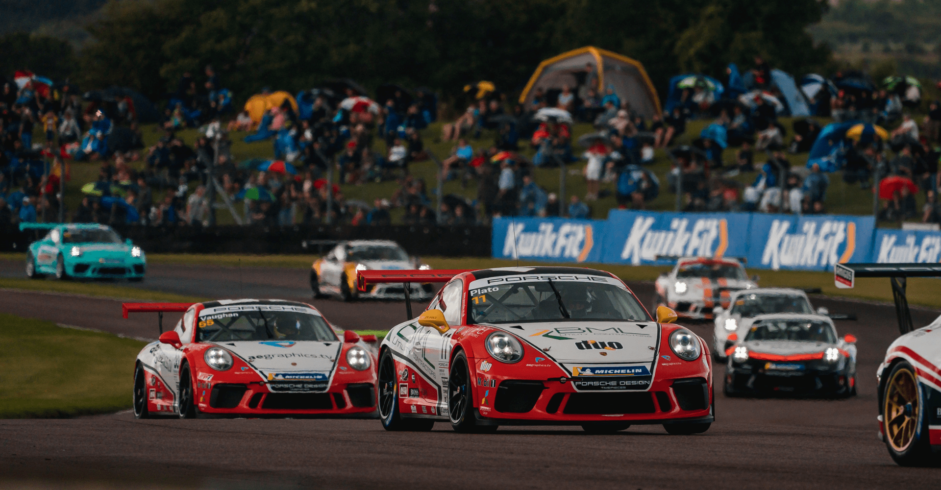 Motorbase Performance digs deep for podium finish at Thruxton