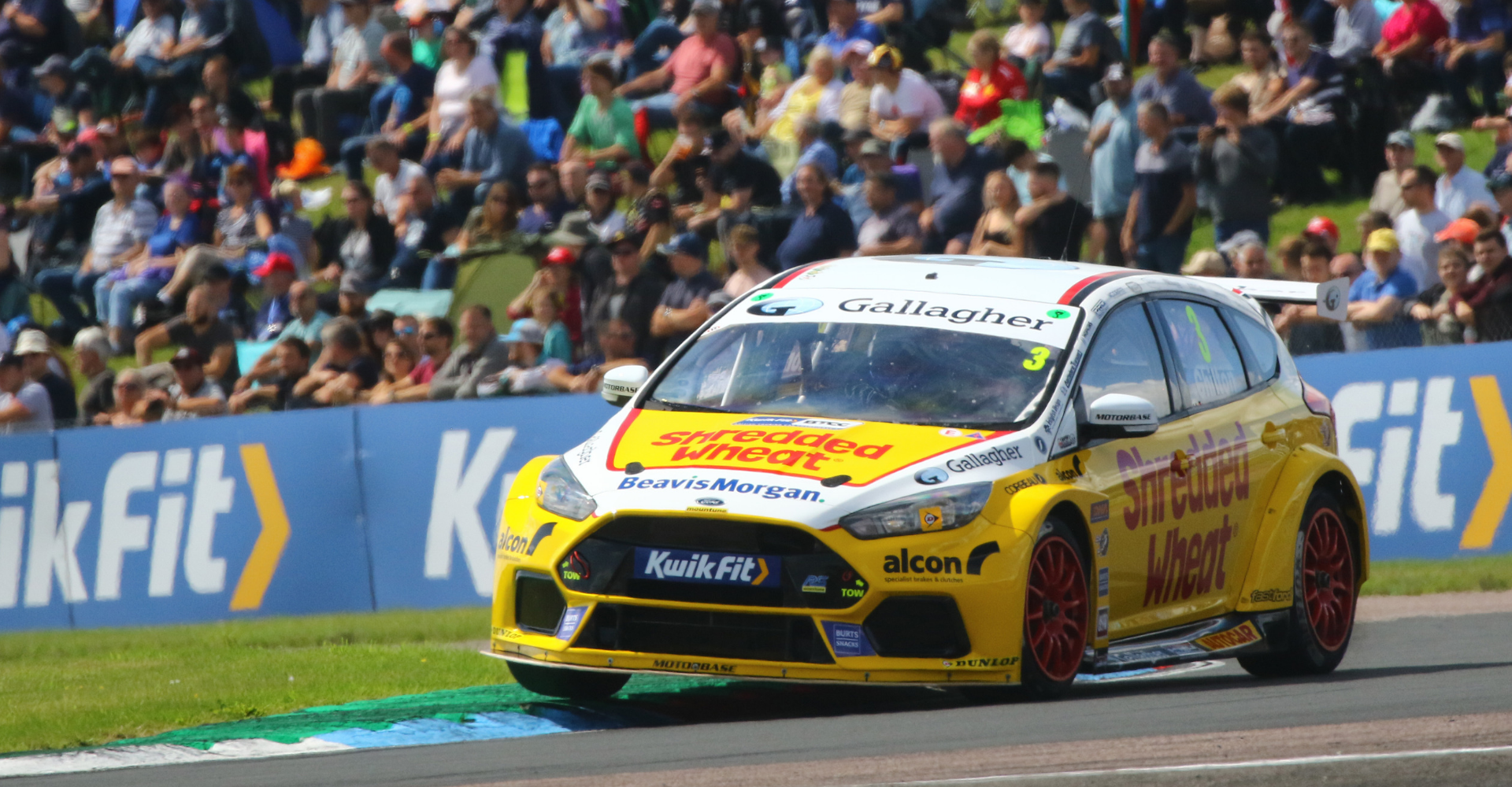 Team Shredded Wheat Racing with Gallagher focused on a return to form in Scotland