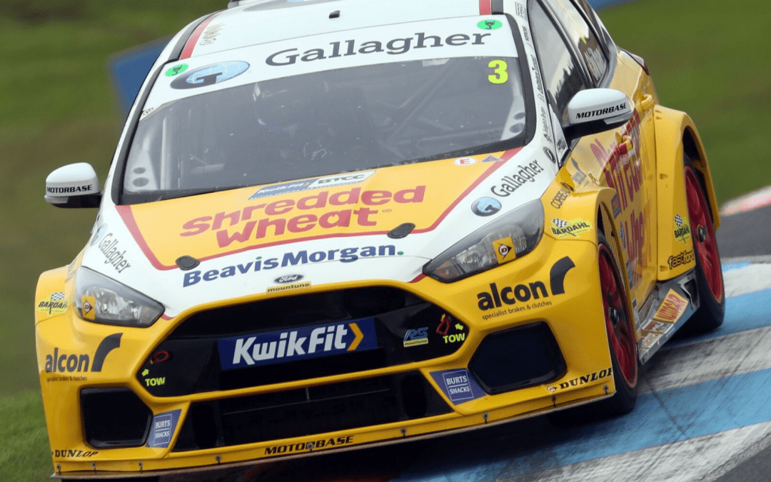 Positive weekend for Team Shredded Wheat Racing with Gallagher at Knockhill