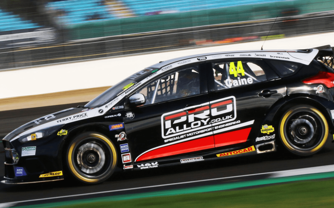 Caine opens up his points tally on successful BTCC return at Silverstone