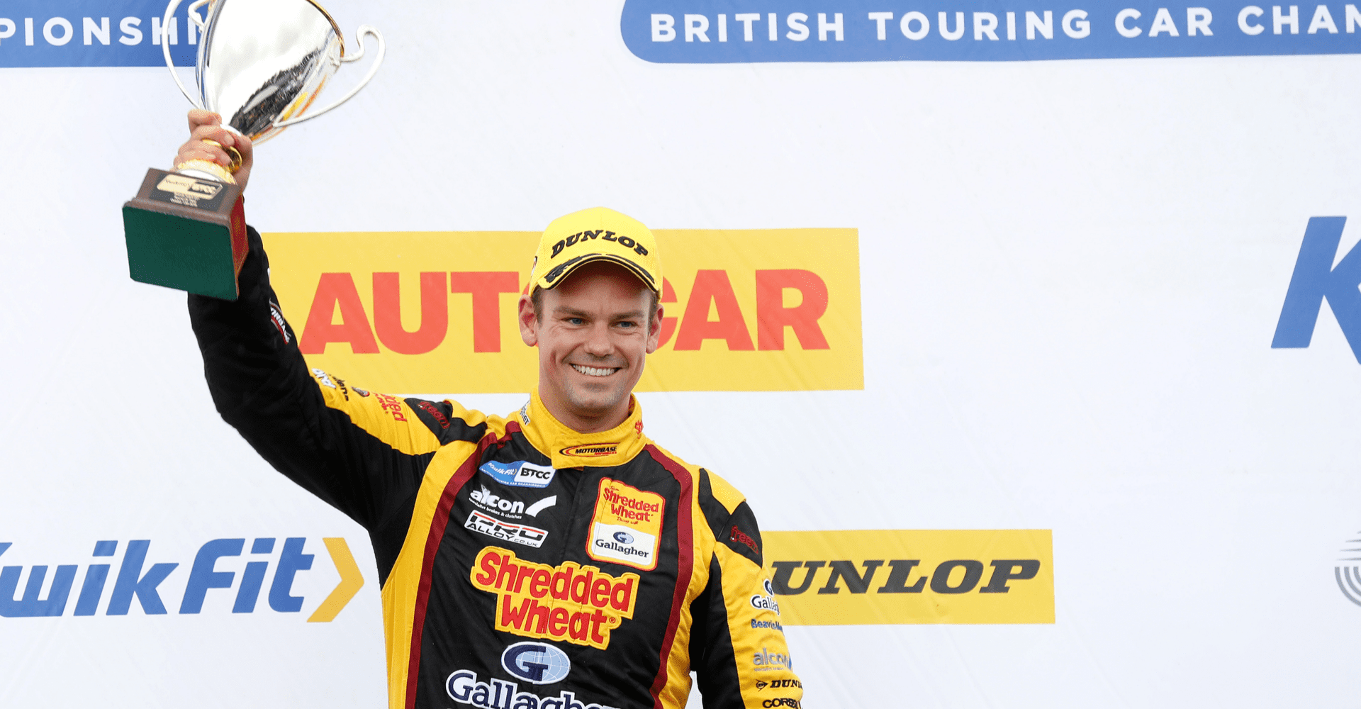 Team Shredded Wheat Racing with Gallagher signs off in style with podium and double Indy win at Brands Hatch