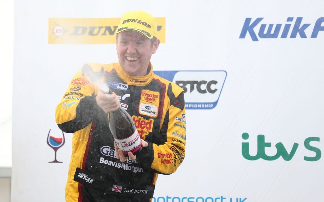 JACKSON INKS DEAL TO REMAIN WITH MOTORBASE FOR 2020 KWIK FIT BRITISH TOURING CAR CHAMPIONSHIP
