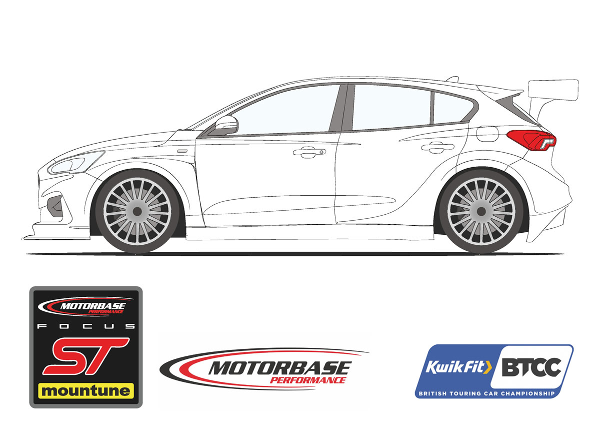 Motorbase Performance BTCC outline