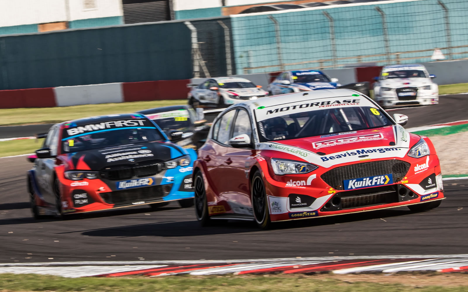 Motorbase on a high after debut podiums for new Ford Focus machines
