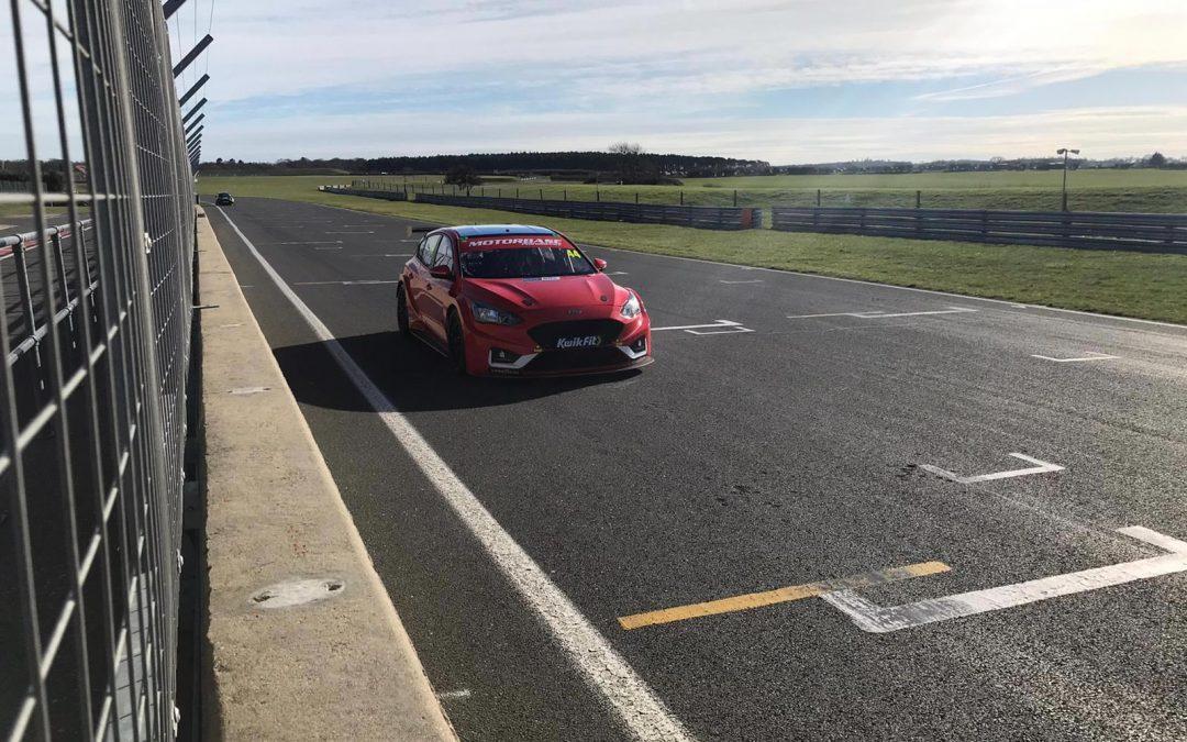 Optimistic start for Motorbase during pre season testing at Donington Park and Snetterton