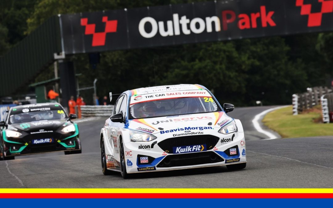 QUARTET OF POINTS FINISHES FOR MB MOTORSPORT ACCELERATED BY BLUE SQUARE AT OULTON PARK