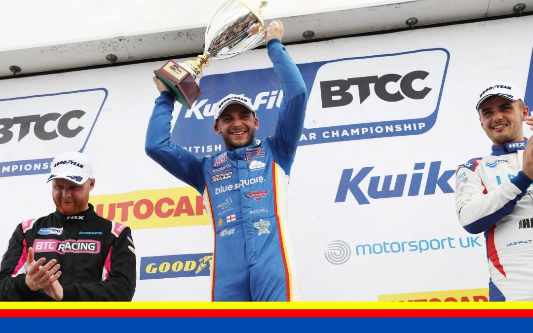 MB MOTORSPORT ACCELERATED BY BLUE SQUARE STORM TO MAIDEN BTCC WIN AT CROFT
